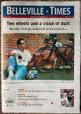 Bike Mike in Belleville Times